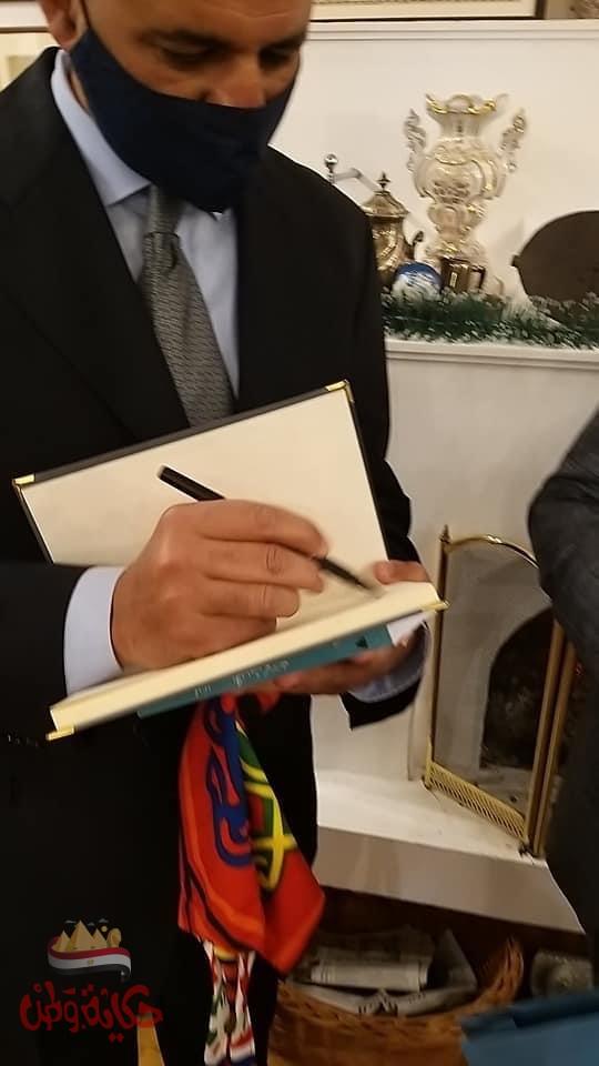احتفالية رفيعة المستوى لمتحف الكتاب الصربى احتفاءً بتقديم كتابين موقعين للأديب نجيب محفوظ والكاتب محمد سلماوي